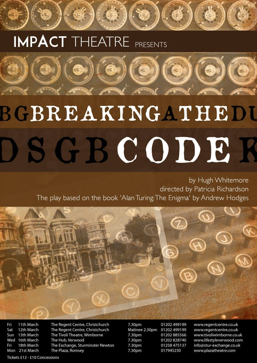breaking the code Directed by herbert wise with derek jacobi, alun armstrong, blake ritson, william mannering a biography of the english mathematician alan turing, who was one of the inventors of the digital computer and one of the key figures in the breaking of the enigma code, used by the germans to send secret orders to their u-boats in world war ii.