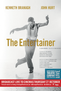 Kenneth Branagh Theatre Company The Entertainer poster