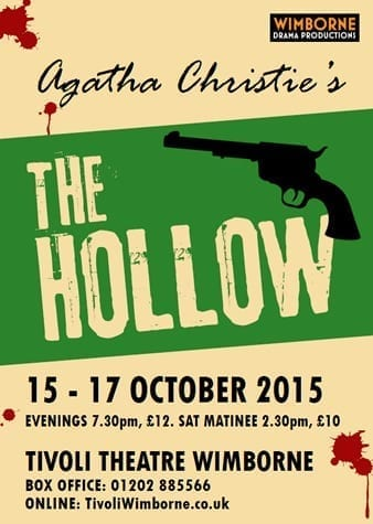 Wimborne Drama Productions The Hollow 2015