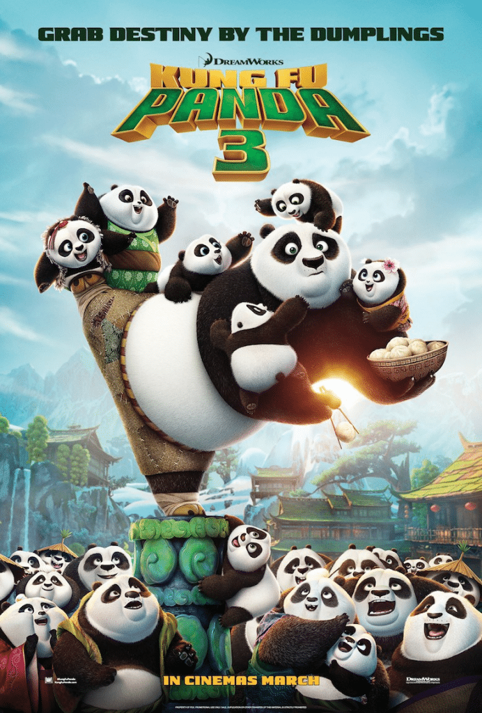 Kung Fu Panda film poster