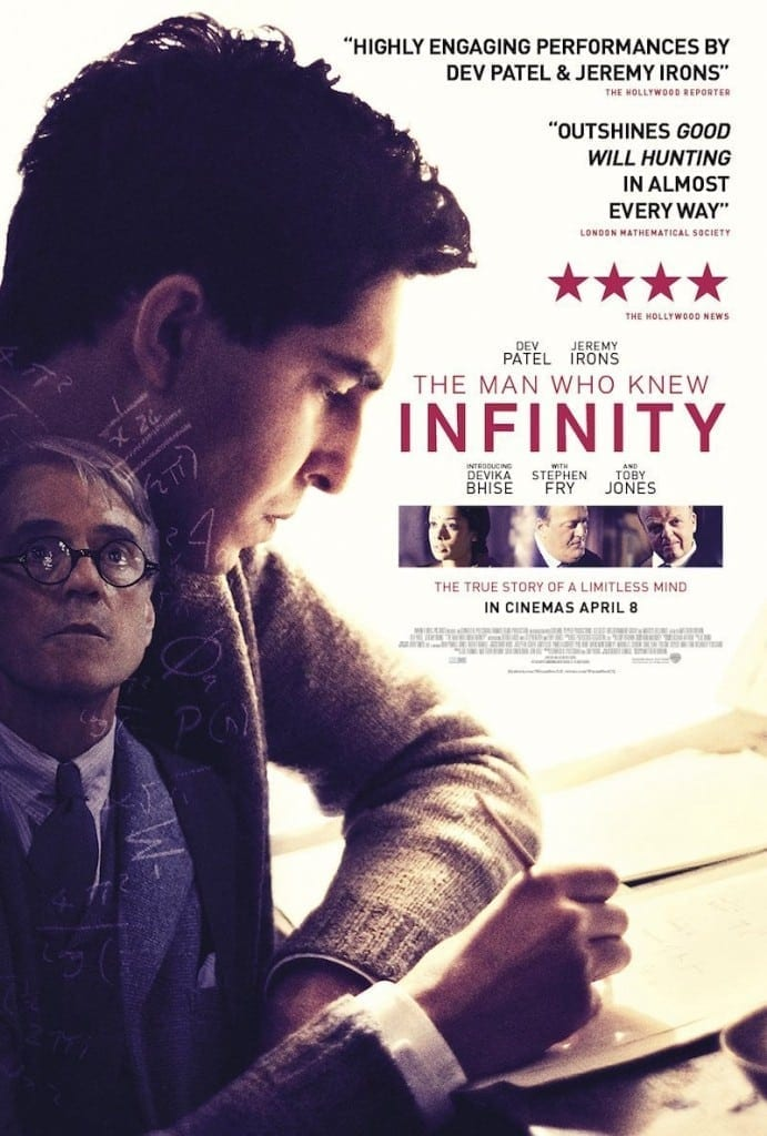 The Man Who Knew Infinity Poster