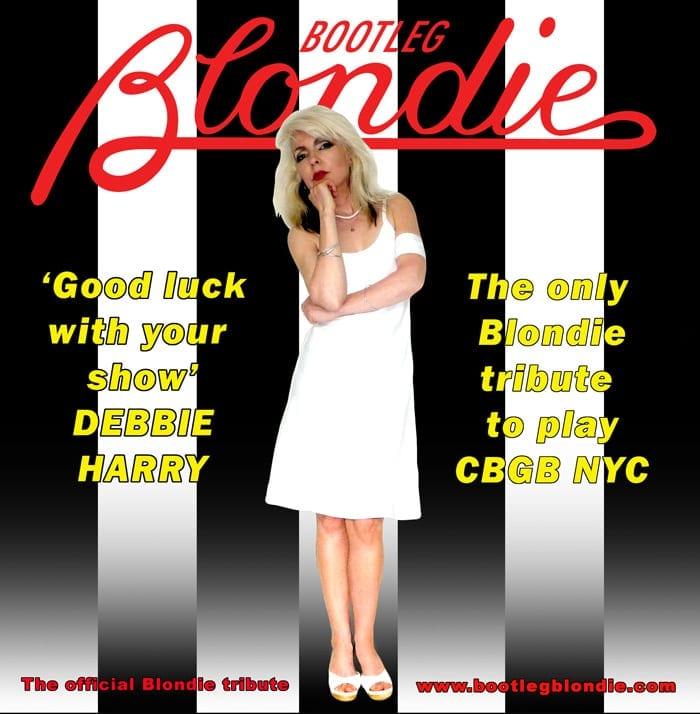 BOOTLEG BLONDIE BLONDIE DEBBIE HARRY TRIBUTE BAND AND LOGO (26)