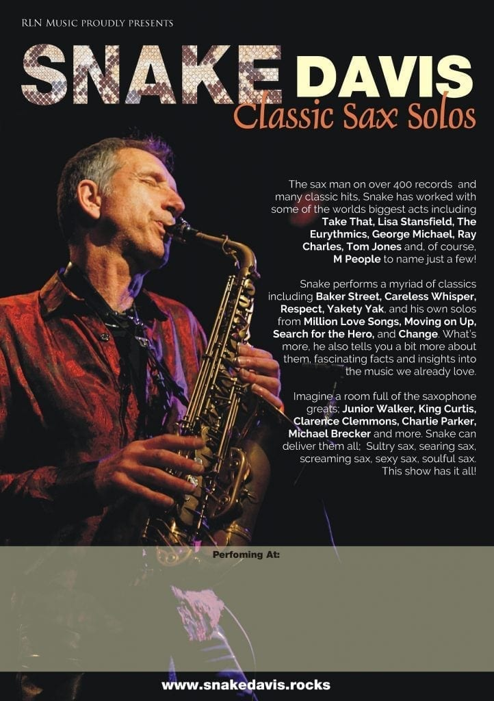 George Michael sexy Saxophonist