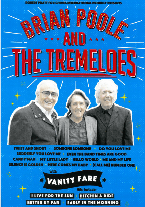 Brian Poole And The Tremeloes Tour