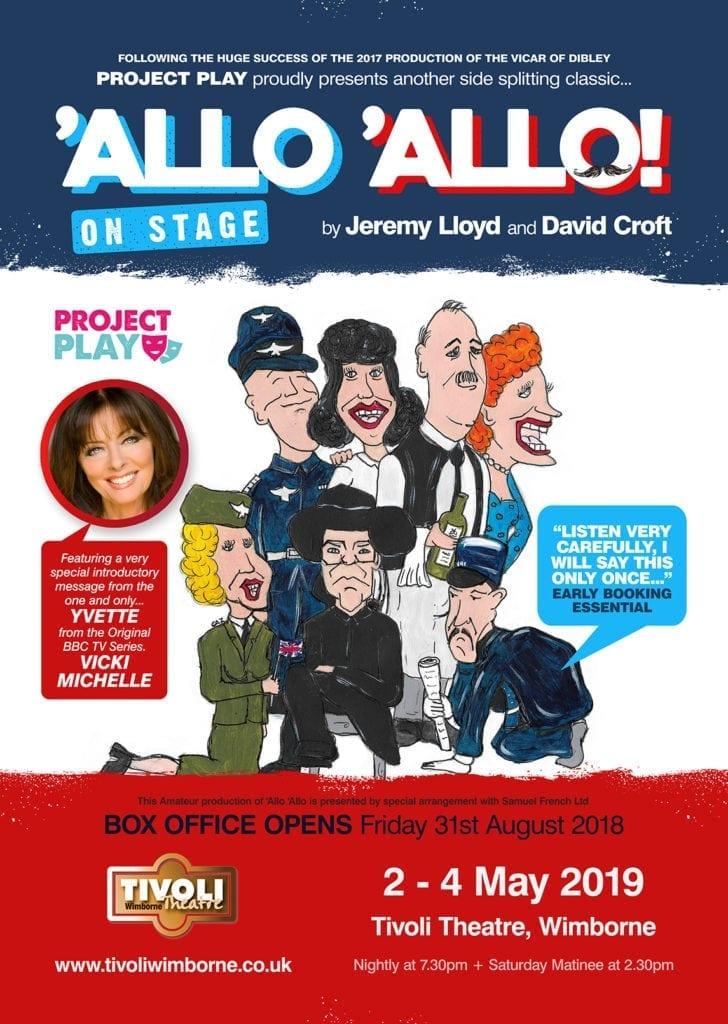 Allo 'Allo! - Tivoli Theatre Wimborne